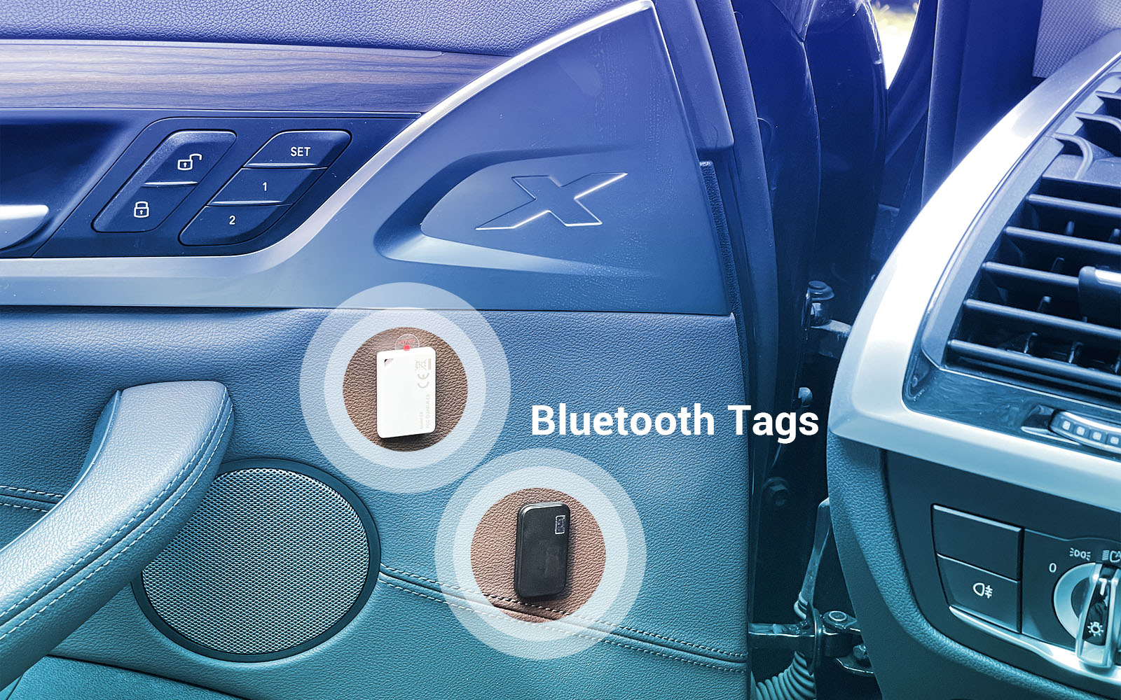 Install a Bluetooth Beacon in the car